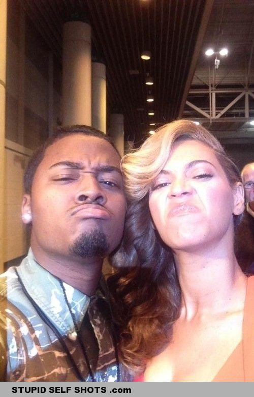 Angry Beyonce Self Shot