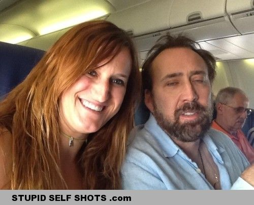 Nicholas Cage drunk Self Shot
