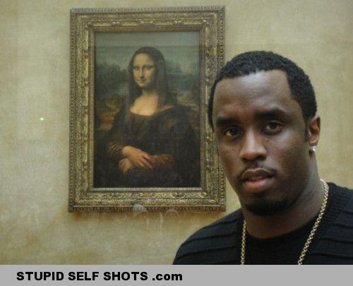 P. Diddy, Mona Lisa self shot