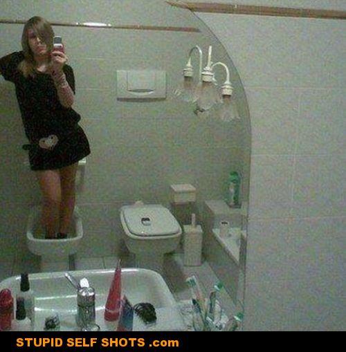 Toilet Self Shot