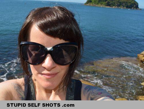 Vacation self shot