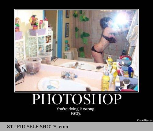 Bathroom Bikini self shot fail