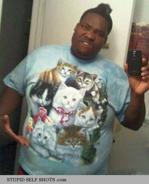 Cats-shirt,-bathroom-mirror-selfie