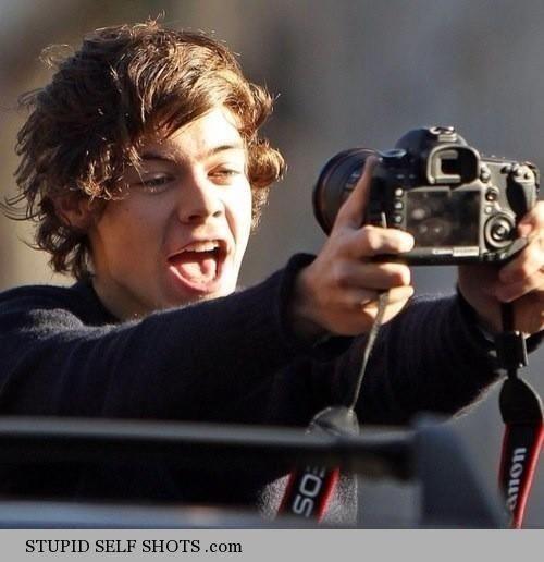 One Direction big camera self shot