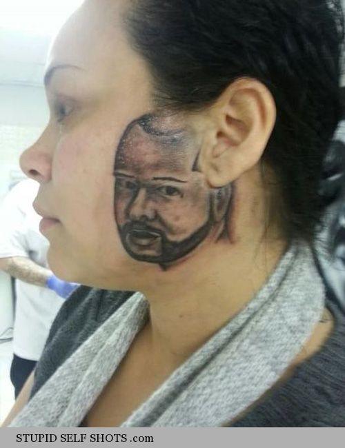 Tattoo fail, self shot