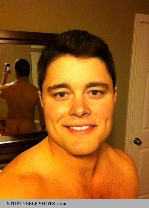 Bedroom mirror self shot fail