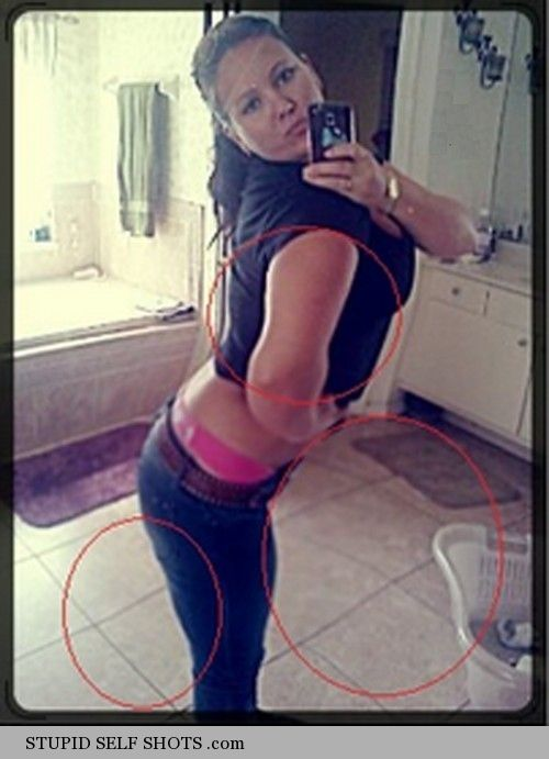 Photoshopped Self Shot fail