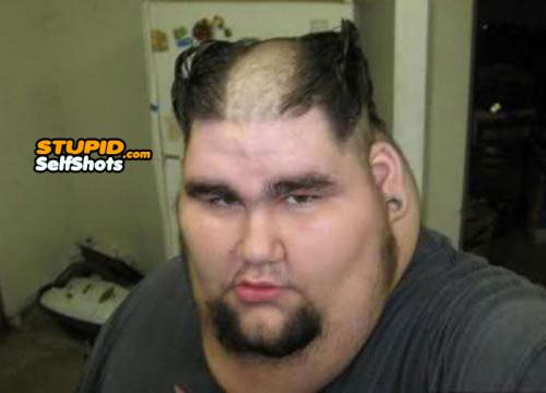 Hair and Fat Fail, self shot