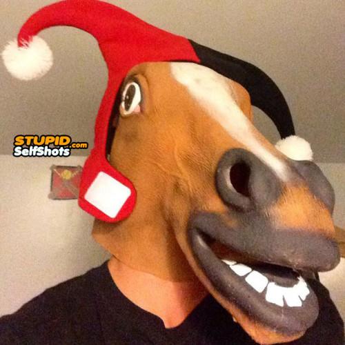 Horse head, joker self shot