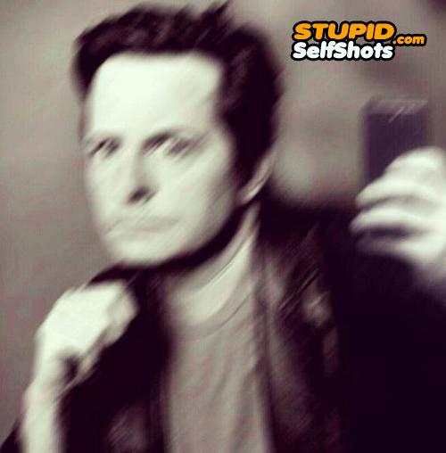 Michael J Fox, self shot fail