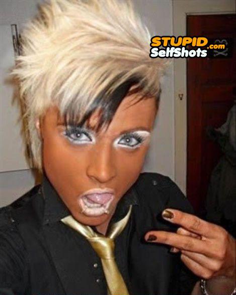 Tanning make up and hair fail, self shot