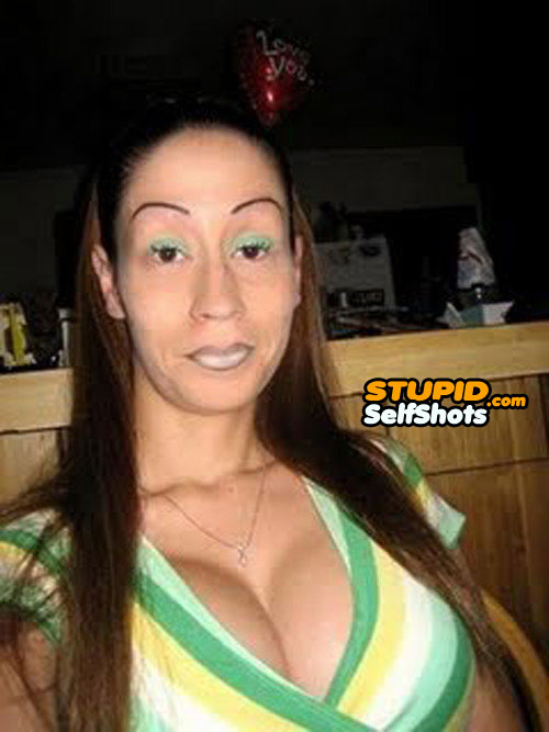 Them eyebrows are so much fail! Self shot