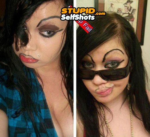 Those eyebows are hideous, self shot
