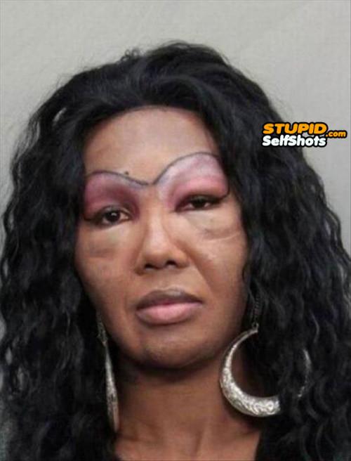 Dem eyebrows, self shot fail