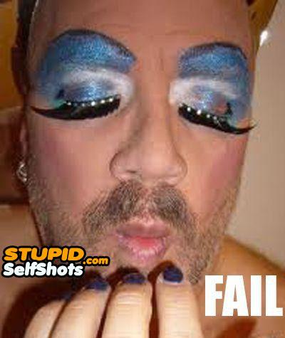 So much fail, transgender self shot